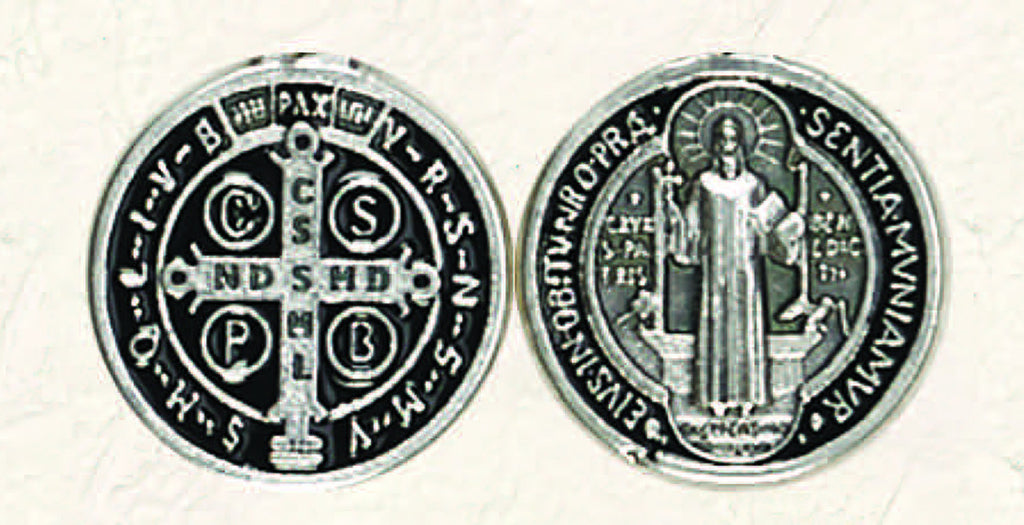 St Benedict Pocket Token