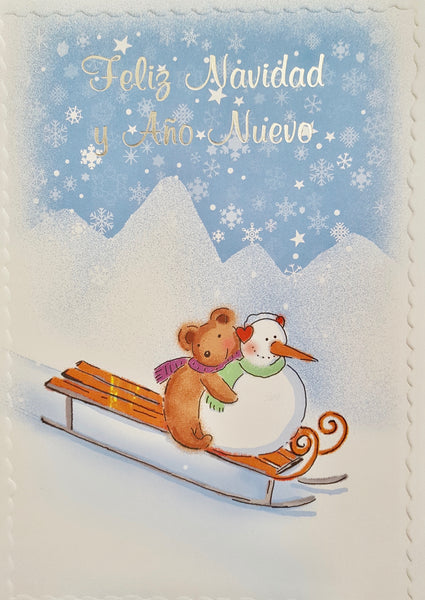 Foreign Christmas Card-Spanish