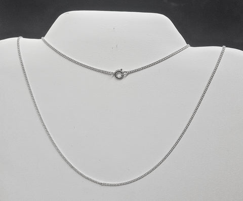 "24"" Sterling Silver chain"