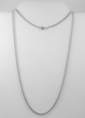 "24"" Stainless Steel Chain with Clasp"
