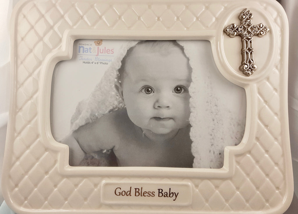 """God Bless Baby"" Frame"