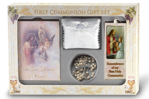 Blessed Trinity Girl's Communion Set