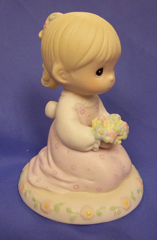 "Precious Moments ""Thinking of You is What I Really Like to Do"" Figurine"