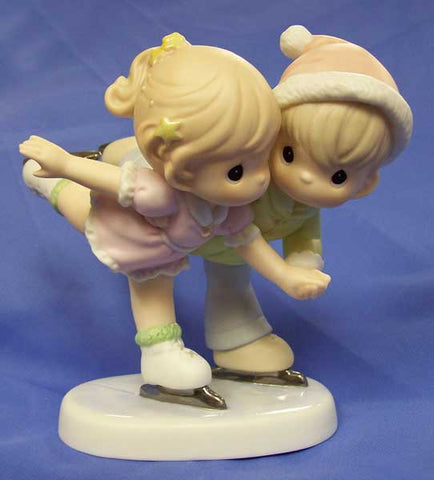 "Precious Moments ""Sharing Our Winter Wonderland"" Figurine"