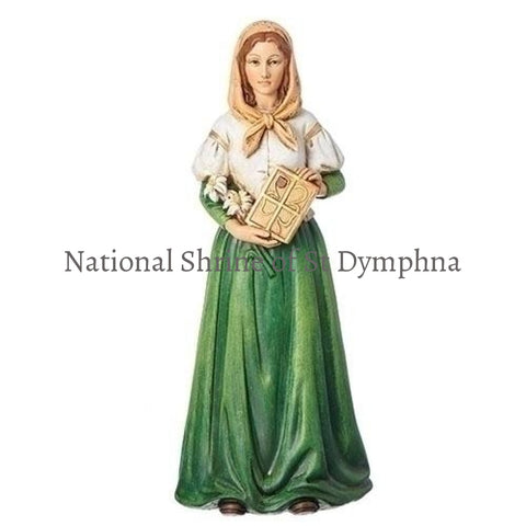 6 Resin St Dymphna Statue Statues