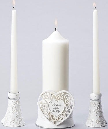 Unity Candle Holder Set