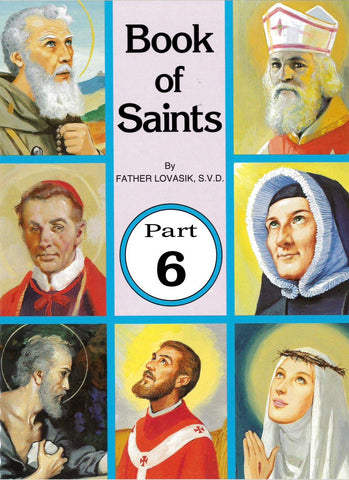 Book of Saints - Part 6