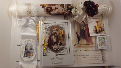 Spanish Boy First Communion Set