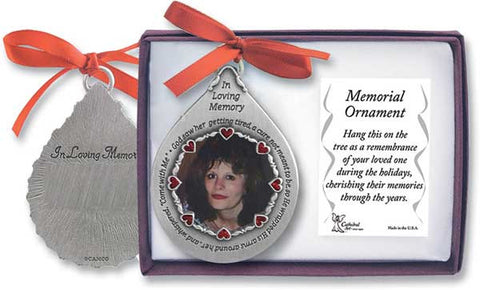 Memorial Teardrop Ornament - Female