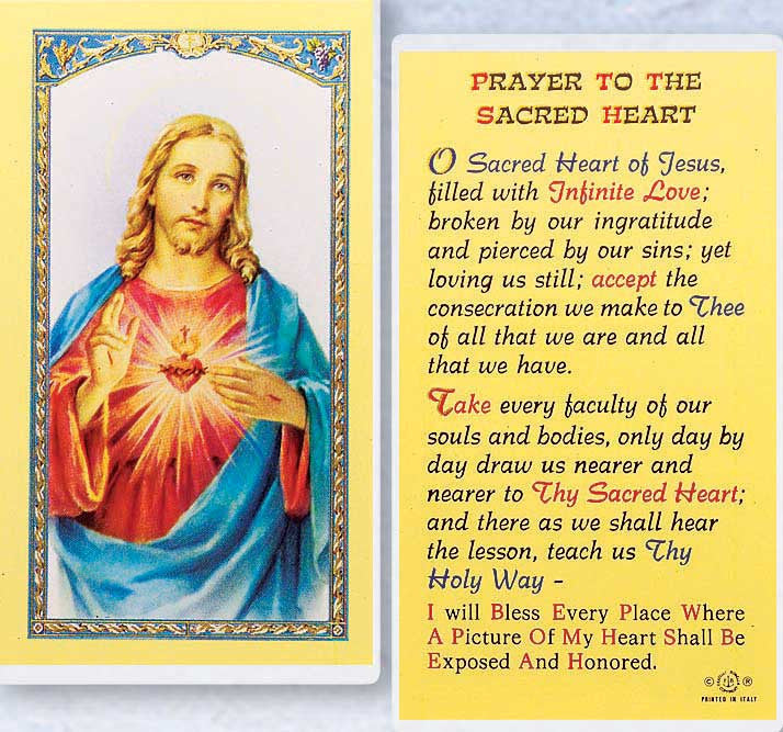 Prayer to the Sacred Heart LPC