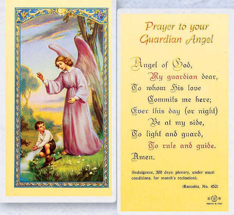 Guardian Angel with Boy LPC