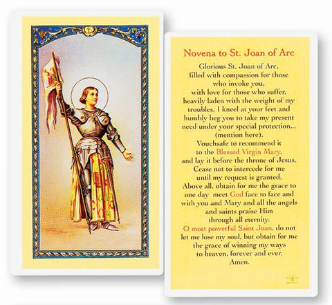 Novena to St Joan of Arc LPC