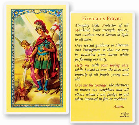 Fireman's Prayer LPC