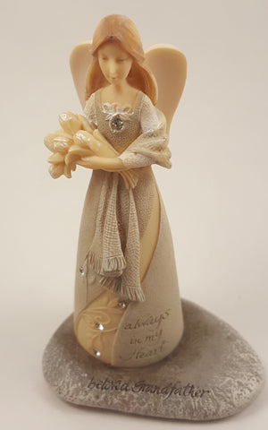 "Foundations ""Beloved Grandfather"" Mini Angel"