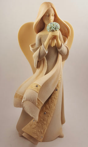 "Foundations ""Forget Me Not"" Figurine"