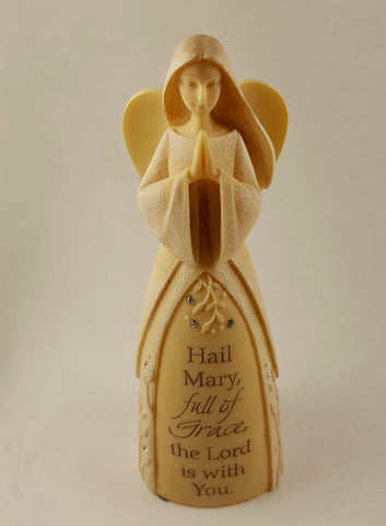 "Foundations ""Hail Mary"" Mini Angel"