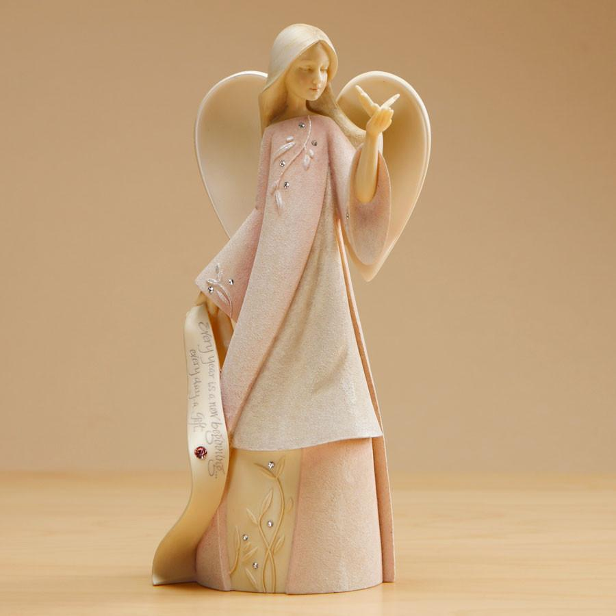 "Foundations ""October"" Birthstone Angel"