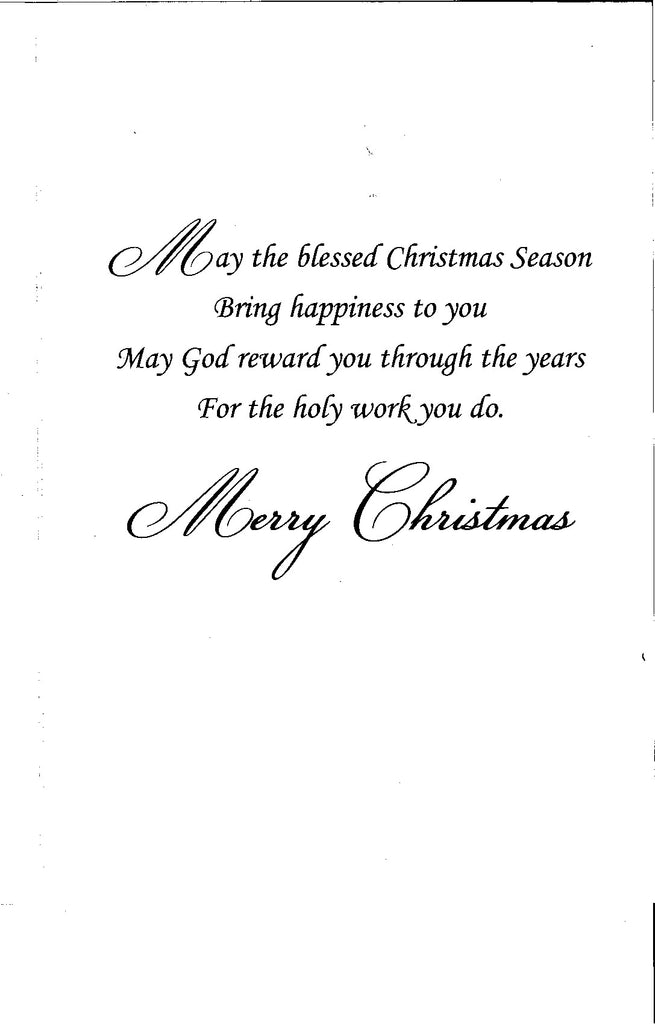 Christmas Card-Lord\'s Service – National Shrine of St. Dymphna