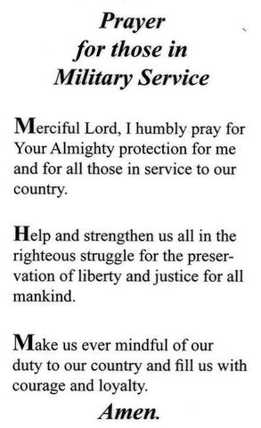 Prayer For Those In Military Service