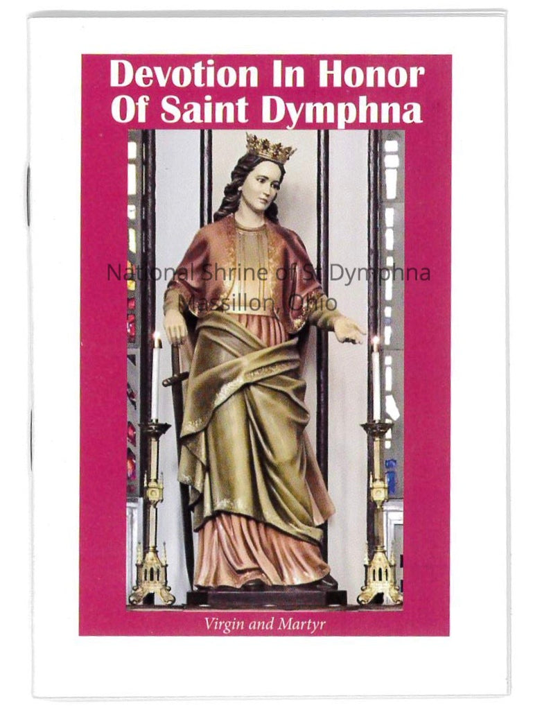 St. Dymphna Novena Booklet - English . NEW DESIGN
