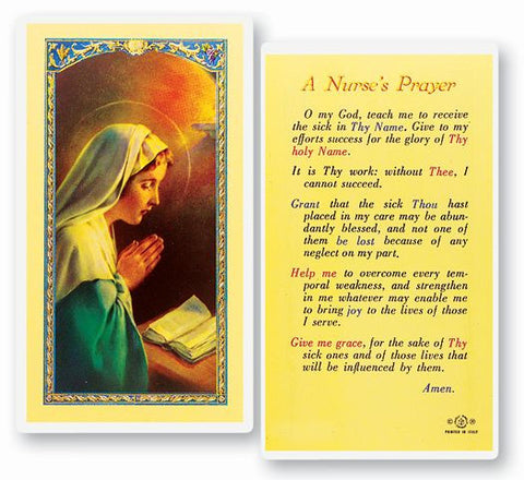 Nurse's Prayer LPC