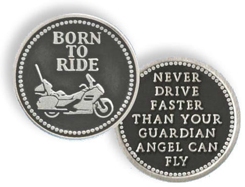 Born to Ride Pocket Token