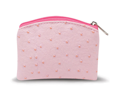 Pink Rosary Case
