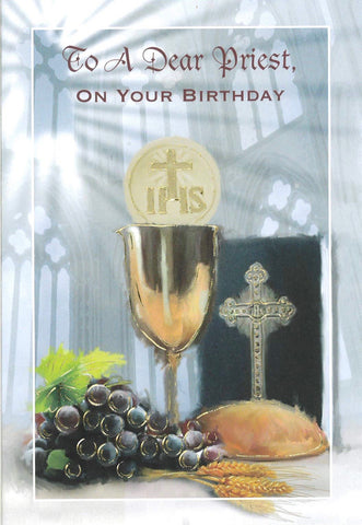 Birthday Card - Dear Priest
