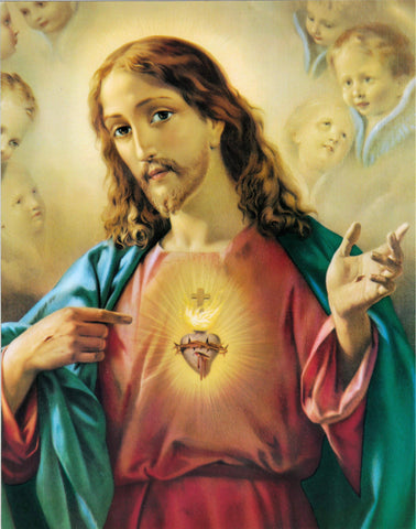 11x14 Sacred Heart of Jesus Print