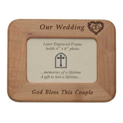 Wedding Maple Frame