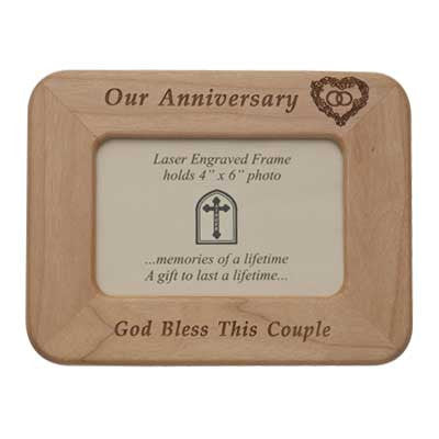 Anniversary Maple Frame