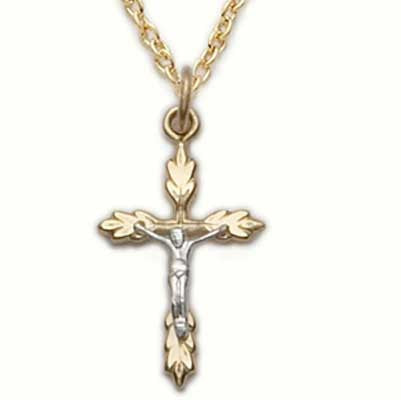 Gold Filled Crucifix Necklace
