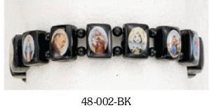 Small Saints Bracelet-Black