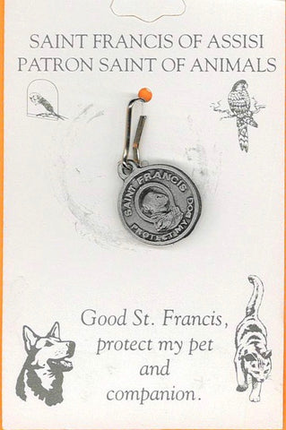 St Francis Pet Medal-Protect My Dog-Small