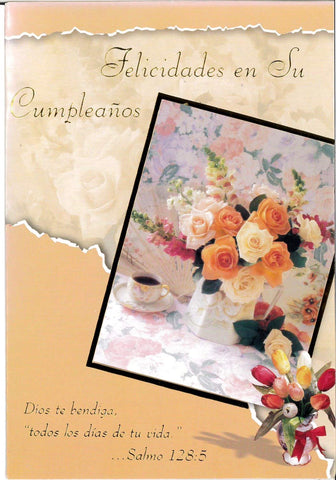 Birthday Card-Pop-up-Spanish