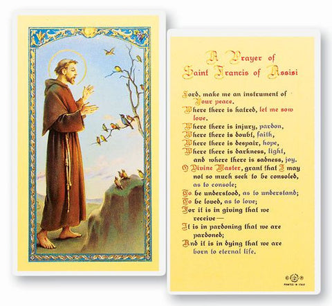 A Prayer of St Francis of Assisi LPC