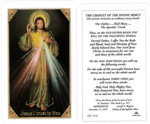 Chaplet of Divine Mercy LPC