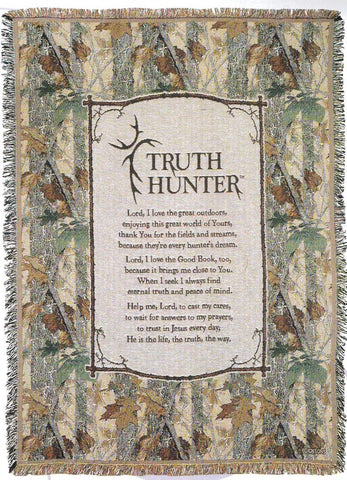 """Truth Hunter"" Throw"