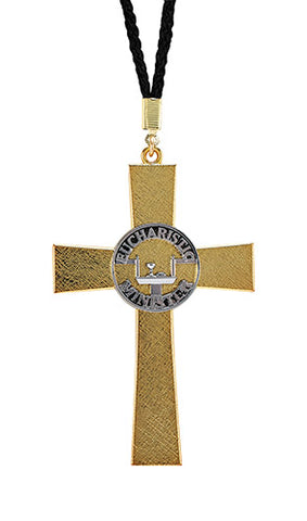 Eucharistic Minister Cross Pendant On Cord