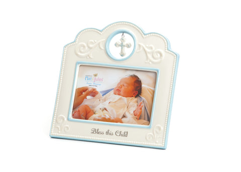 "Blue ""Bless This Child""  Frame"
