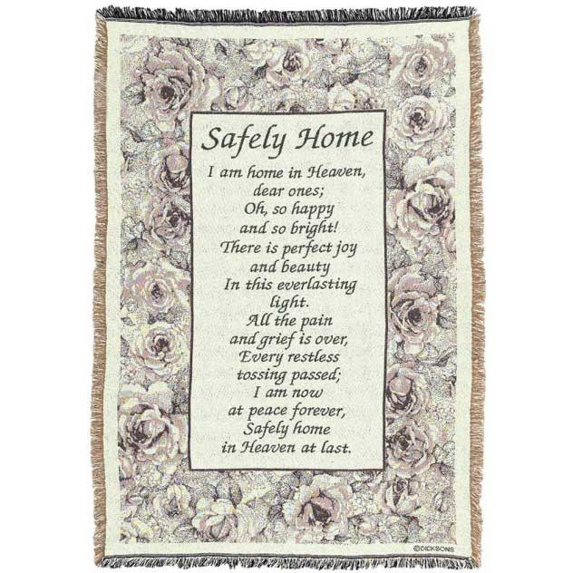 """Safely Home"" Throw"