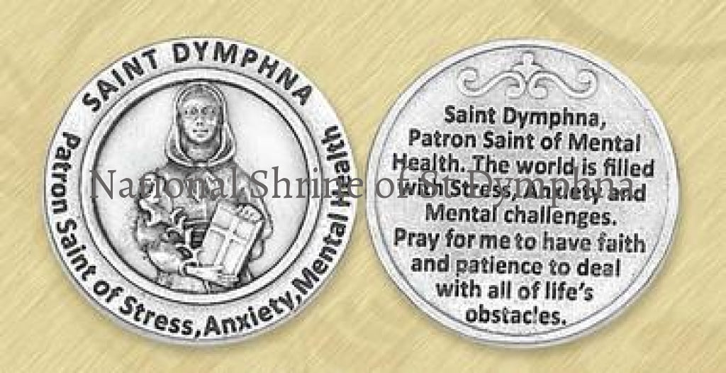 **new Style** St. Dymphna Pocket Token Tokens