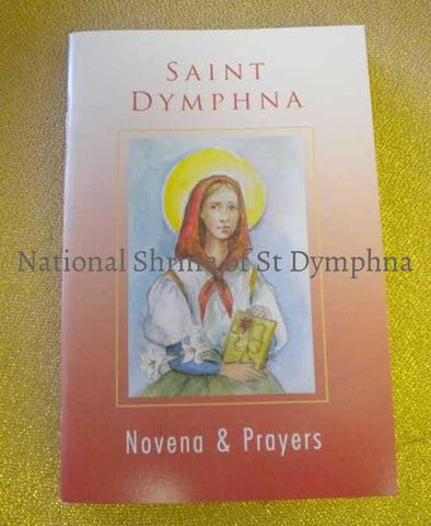 Novena & Prayers Of St. Dymphna Book Bibles Books And Booklets