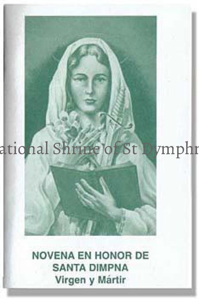 St. Dymphna Novena Booklet - Spanish Bibles Books And Booklets