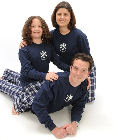 Winter Snowflake Matching Family Sets in All Sizes