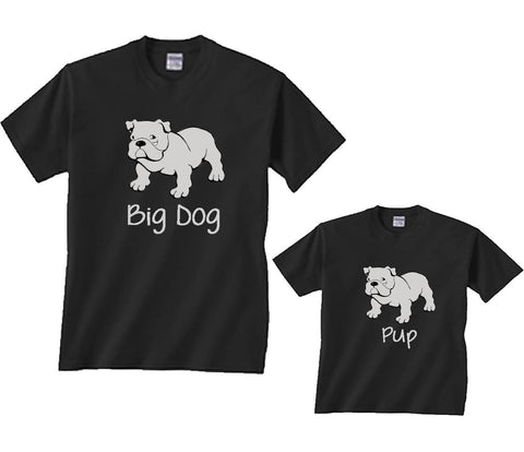 Big Dog Father Son T-shirts