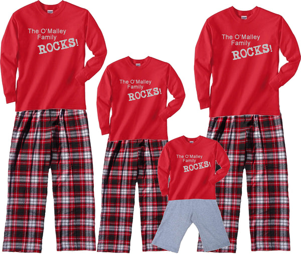 Personalized FAMILY ROCKS! Matching Outfits in all Sizes