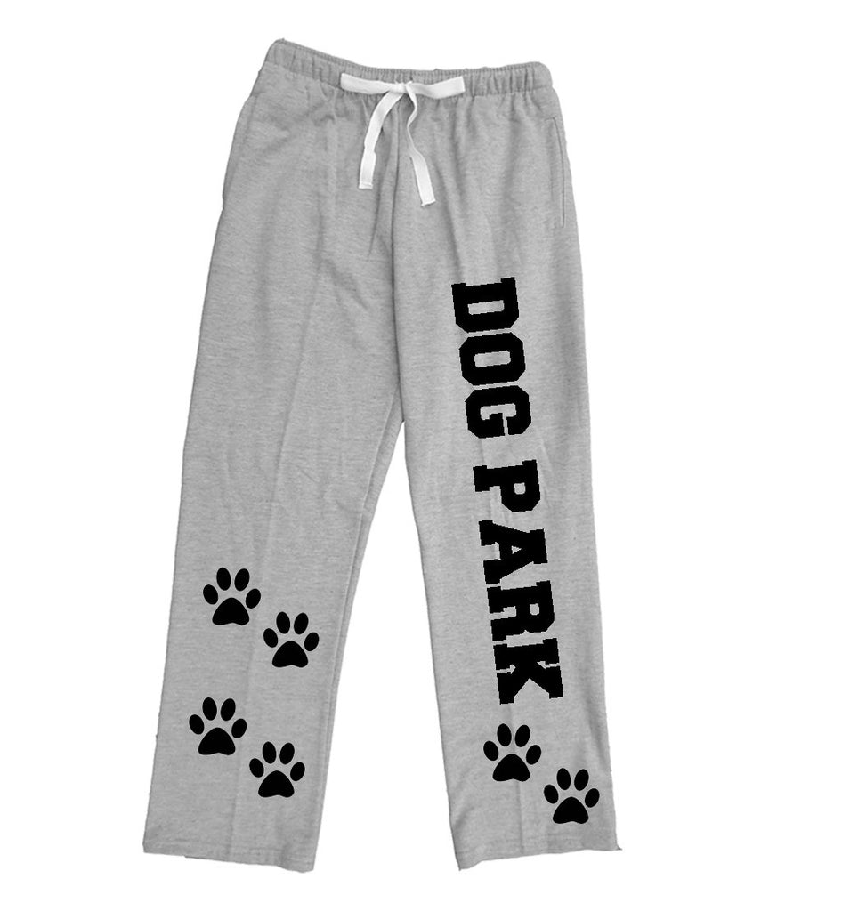 DOG PARK Paw Print Fleece Pants - Adult and Youth Sizes