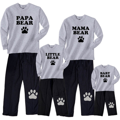 Bear Family Matching Outfits - Mama, Papa, Baby, More