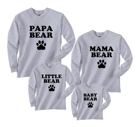 9b02ee01 Family Matching Shirts | T-Shirts for Whole Family Fun Baby to Adult ...